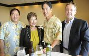 From left, Paul Saito with Cades Schutte, Masako Nashimoto-Luttrell of Nashimoto & Associates, Gabe Lee of American Savings Bank and Kelly LaPorte of Cades Schutte.