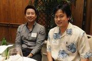Dan Chen of Rush Moore and Jon Karamatsu of the Honolulu Prosecuting Attorney's Officc.
