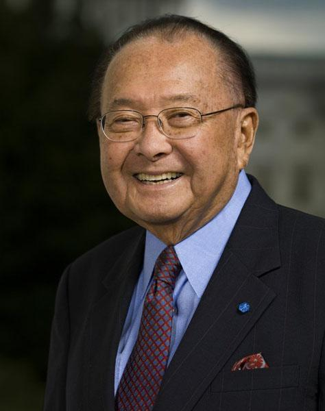 Hawaii Sen. Daniel Inouye remained hospitalized at Walter Reed National Military Medical Center on Sunday, according to his deputy chief of staff, Peter Boylan.