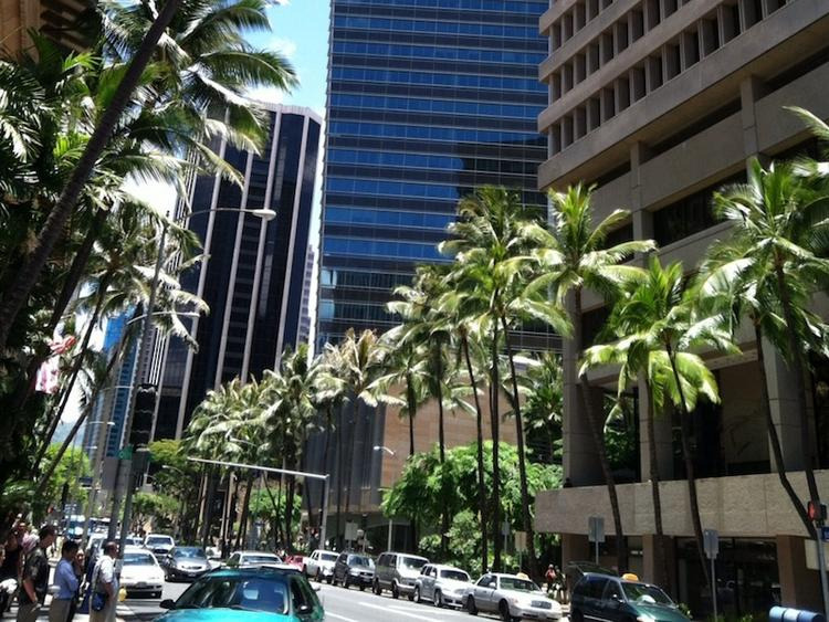 Longs Drugs is opening a store in a ground floor space at the Davies Pacific Center, at right, in Downtown Honolulu.
