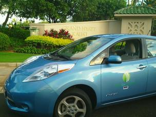 Roberts Hawaii has joined with GreenCar Hawaii to operate shuttle buses that will take the electric car rental company's customers on Kauai from the airport in Lihue to three hotels in the Poipu Resort area, including the Grand Hyatt Kauai Resort and Spa,
