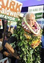 Caldwell elected Honolulu mayor, defeats Cayetano