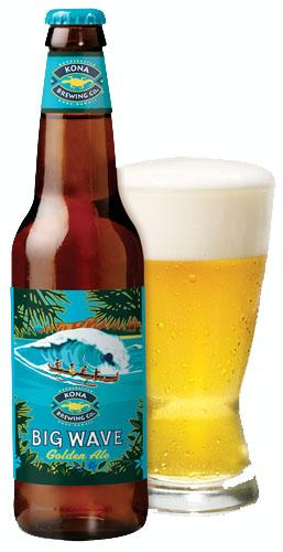 Kona Brewing Co. said the rollout of its Big Wave Golden Ale to the Mainland contributed to its 27 percent increase in shipments in 2012.