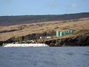 Kaumalapau Harbor, seen here in this 2007 file photo, is Lanai's largest commercial harbor. The island also has a small boat harbor at Manele Bay, which includes a ferry terminal for the ferries from Maui.