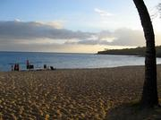 """Hulopoe Beach is seen in this 2007 file photo. The beach, located between Manele Bay and the Four Seasons Resort Lanai at Manele Bay, was given the title of best beach in the nation in 1997 by Stephen Leatherman, aka """"Dr. Beach."""""""