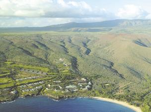 Castle & Cooke CEO David Murdock retained the right to build a large wind farm on Lanai after selling his 98 percent of the island to Oracle Corp. CEO Larry Ellison last year.