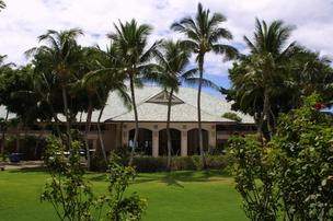 The Four Seasons Resort Lanai at Manele Bay, seen in this file photo, and the Four Season Resorts Lodge at Koele will remain under the Four Seasons brand under Larry Ellison's ownership.