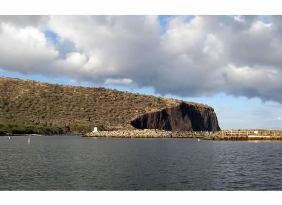 The state of Hawaii's Manele Small Boat Harbor on Lanai is seen in this 2007 file photo. Oracle Corp. CEO Larry Ellison, who recently bought 98 percent of Lanai, is reportedly planning to create a world-class yacht harbor on the island.