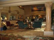 The lobby at the Four Seasons Resort Lanai at Manele Bay is seen in this 2009 file photo.