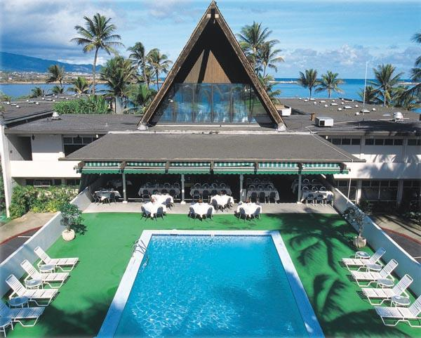Aqua Hotels & Resorts will take over management of the Maui Beach Hotel, seen here, on April 1.