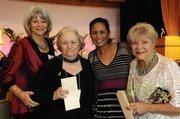 Nancy Cabral, Dot Mason, Rosanna Costales and Arden Moore at PBN's 2012 Women Who Mean Business event at The Royal Hawaiian in Waikiki.