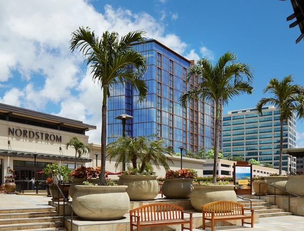 Howard Hughes Corp. CEO David Weinrebtold shareholders Tuesday that the developer expects to make a profit of $66 million from the ultra-luxury ONE Ala Moana condominium tower being built next to Nordstrom at Ala Moana Center, seen in this rendering.