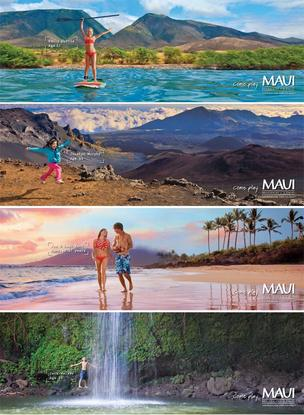 "The Pele Awards' Best of Show - Advertising went to  Anthology for its four-color magazine campaign  ""Come Play Print Campaign."" Client: Maui Visitors Bureau."