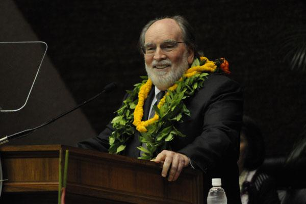 Gov. Neil Abercrombie said during his state-of-the-state address Tuesday that he will propose a $1.50-per-hour increase to Hawaii's minimum wage starting next year.