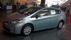 Toyota unveiled its newest hybrid vehicle at 2012 Asia-Pacific Clean Energy Summit and Expo at the Hawaii Convention Center in Waikiki. The Prius PHV (Plug-in Hybrid Vehicle), which is the same as a standard Prius but has the capacity for extended EV driv