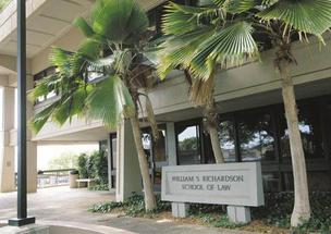 The University of Hawaii's William S. Richardson School of Law ranked high in two categories in The Princeton Review's newest rankings of U.S. law schools.