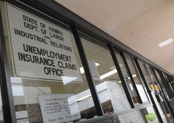 Initial unemployment claims in Hawaii dropped 10 percent last week, compared to the same week in 2012.