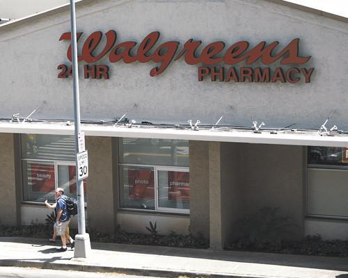 Walgreens plans to demolish its first Hawaii store, the former Tower Records building on Keeaumoku in Honolulu, seen here in this undated file photo, and replace it with a two-level store with parking.