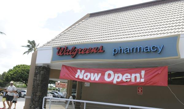 Walgreens opened its newest Hawaii store this week in the former Foodland space at the Koko Marina Shopping Center in Hawaii Kai