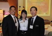 Wes Armor, Sandy Kelly and Roy Kuboyama at PBN's 2012 Women Who Mean Business event at The Royal Hawaiian in Waikiki.