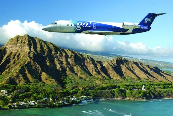 According to the U.S. Department of Transportation's Air Travel Consumer Report, the Hawaii interisland carrier go! had 117 chronically delayed flights in April.