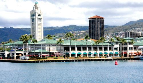 Prospective buyers for Aloha Tower Marketplace are considering adding hotel rooms or office space.