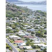 A tale of two ZIP codes: Housing numbers tell different stories.  This view of Aina Haina shows a neighborhood that is enjoying a growing residential real estate market. The numbers are less impressive for its neighbor, Kaimuki-Kahala.