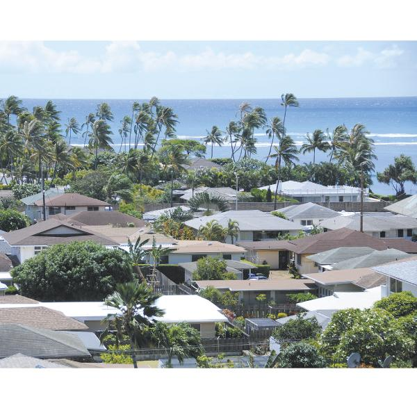 The median price of a single-family home on Oahu in June was $677,250, the highest price in five years.