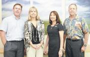 From left, Marc Rousseau, Rhonda Griswold, Grace Kido and Kelly LaPorte are managing partners at Cades Shutte. Griswold and Kido join other Honolulu attorneys who are assuming leadership roles.