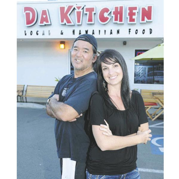 Da Kitchen business partners Les Tomita and Mariah Brown, seen in this  2011 file photo, may open another restaurant on Oahu after their only Honolulu location closes on Saturday.