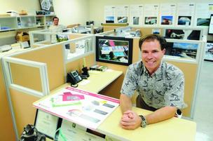 "Island Pacific Energy President Joseph Saturnia not only stores his inventory at Hawaii Foreign-Trade Zone No. 9, he has his office there. ""It just makes sense for us to be near our products,"" he says."