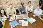 Young publishing team sees future in print