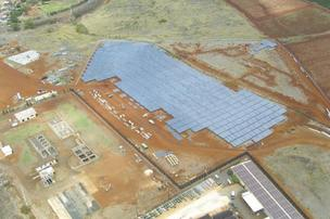 This 6-megawatt solar farm at Port Allen is one piece of Kauai's plan to generate at least half of its energy needs from renewable sources in the next 11 years.