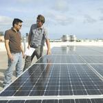 Fast-growing green-energy sector generates jobs