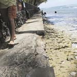 Judge will decide who must pay to fix crumbling seawall