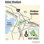 Wakai wants development around Aloha Stadium