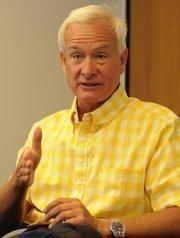 Honolulu mayoral candidates Kirk Caldwell.
