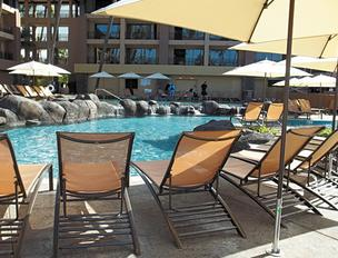 The pool at the Sheraton Kauai Resort was one of Huber Pools' first commercial projects.