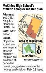 McKinley's bold facilities plan has already hit snags