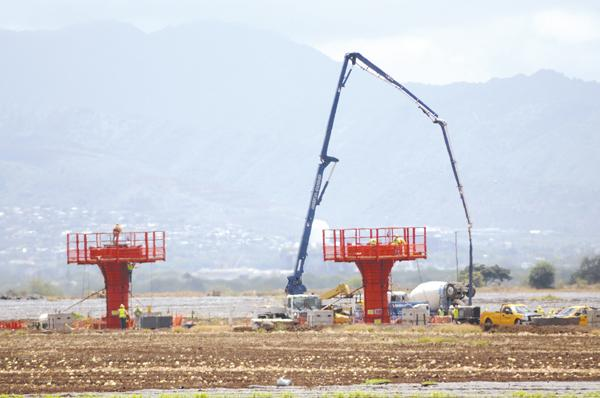Construction on Honolulu's rail transit project could resume as soon as Monday.