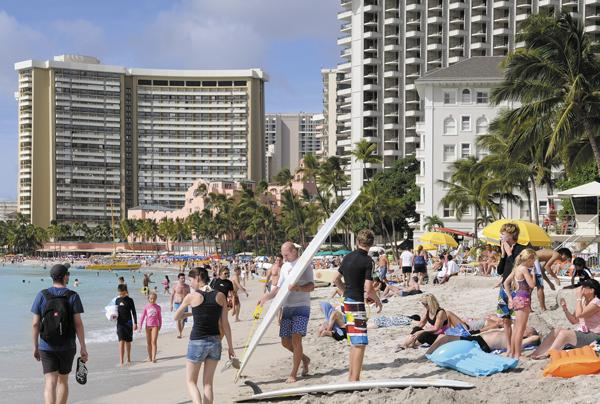 Waikiki's beaches should stay plenty crowded next year, as the visitor industry continues to show strength. But unlike this year when most of the economic activity centered on tourism and energy, other parts of Hawaii's economy should see a boost in 2013.
