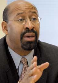Philadelphia Mayor Michael Nutter.