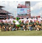 Successful Phillies food drive feeds thousands