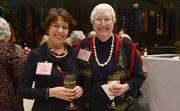 Forum members Nancy Moses and Carol Ann Weisenfeld.