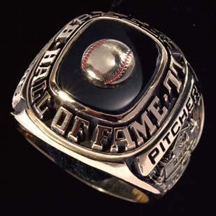 Robin Roberts' Hall of Fame ring.