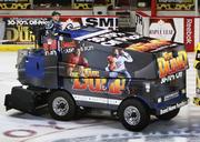Hours of operation on the ice by the Wells Fargo Center Zamboni driver: 4,000