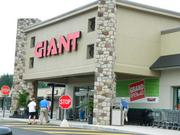 No. 2: Giant Food. Based in based in Carlisle, Pa., and owned by the Dutch company Ahold, it had 48 stores through June and sales of $1.77 billion, giving it a 22.32 percent market share. At least in the eight-county area, Giant will likely move into the No. 1 spot in next year's ranking, based on its acquisition and conversion of 15 former Genuardi's stores this summer. That will add an estimated $300 million in sales.