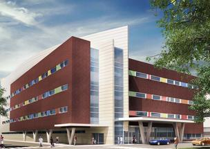 A rendering of the planned critical care tower for Tenet's St. Christopher's project.