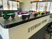 The stores carry designer and exclusive brand names, sunglasses and accessories.