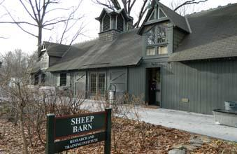 One of Cancer Support Community's facilities in Fairmount Park is a converted sheep barn.